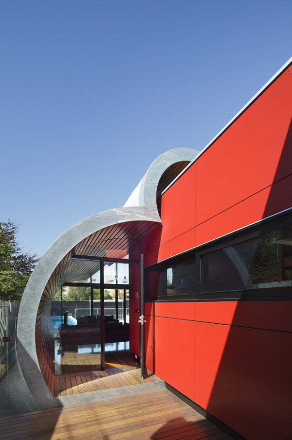 Amazing Cloud House by McBride Charles Ryan from Fitzroy