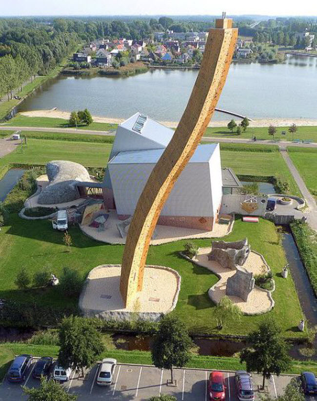 Excalibur Tower Climbing Wall, Groningen, Netherlands
