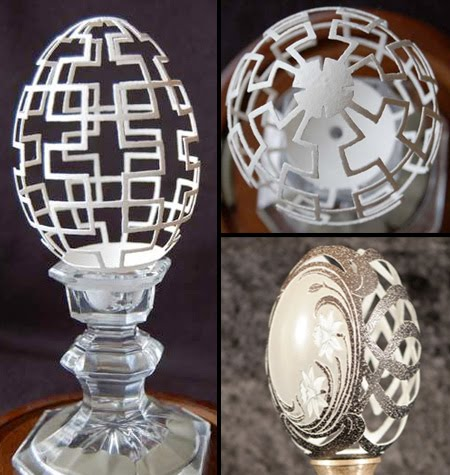 Carvings-on-egg