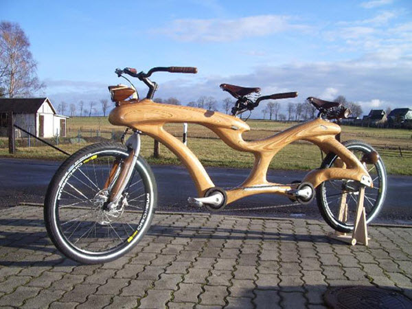 Wooden Motorbikes