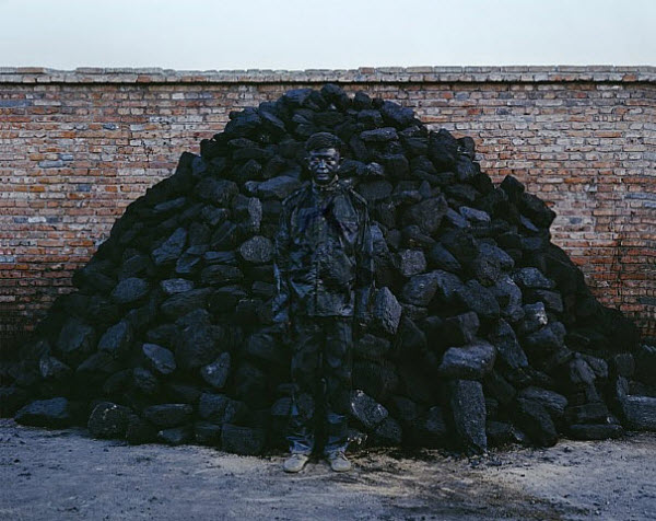 Camouflage art by Liu Bolin from China