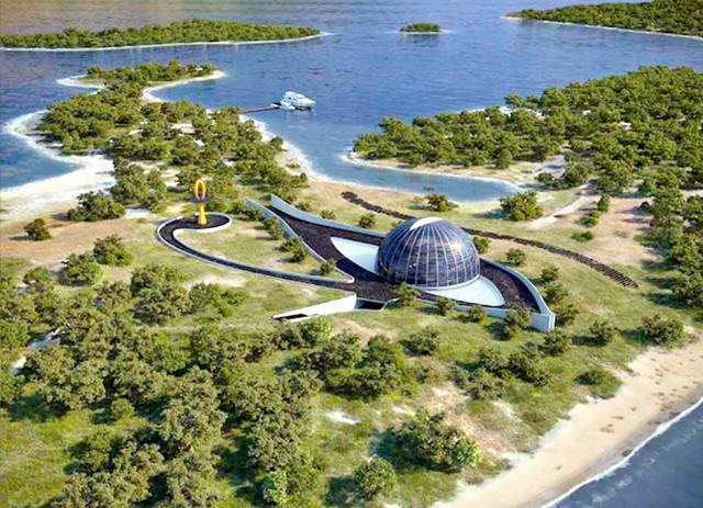 Amazing Eco House Of Naomi Campbell In Turkish Islands