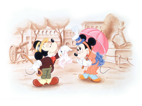 Cartoon Micky Mouse