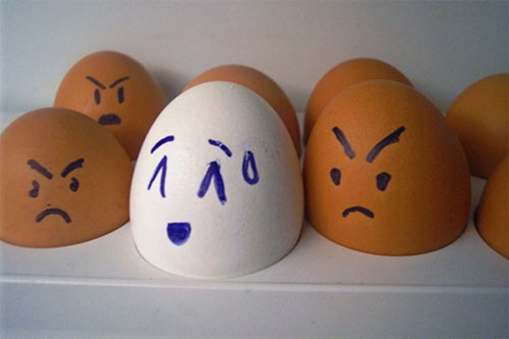 Funny Egg Expressions