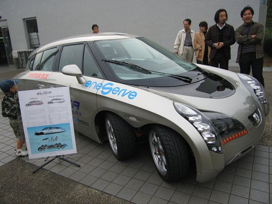 Eliica - 8 wheeled Electric car