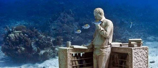 Underwater Sculpture Museum