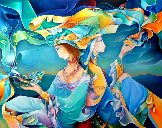 Paintings of Orestes Bouzon