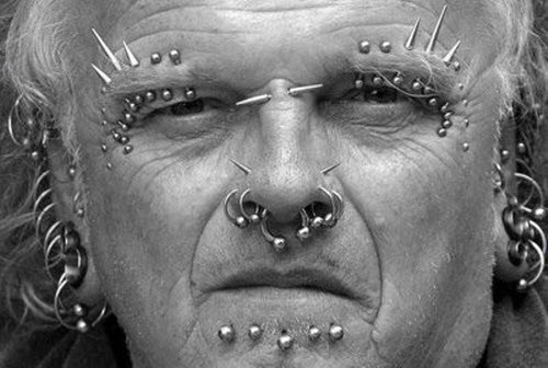 Body Face Piercing