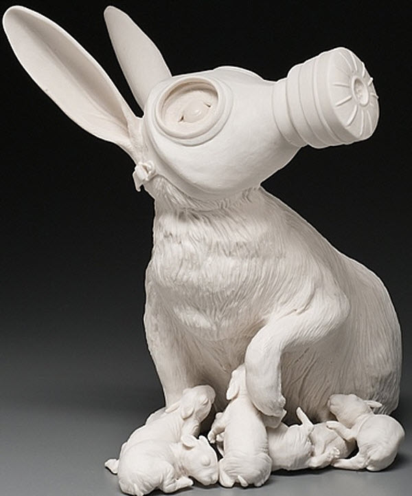 Porcelain Sculpture Art by Kate McDowell