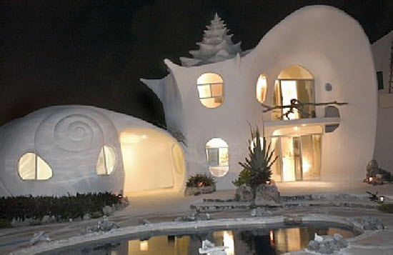 Conch Shell House, Mexico