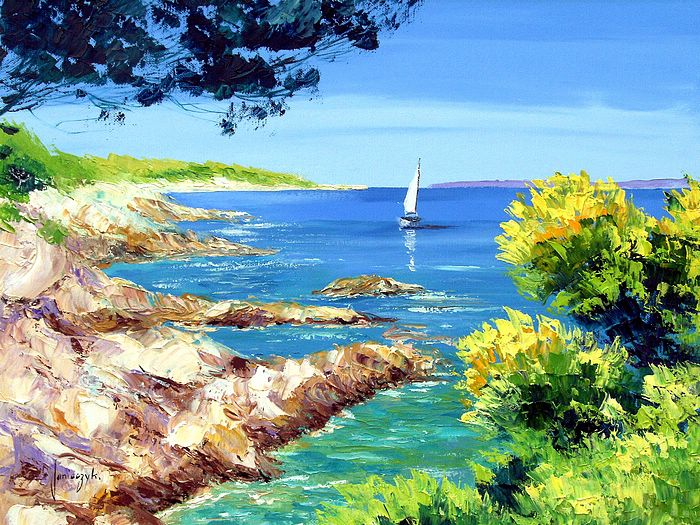 Paintings of Jean Marc Janiaczyk, France