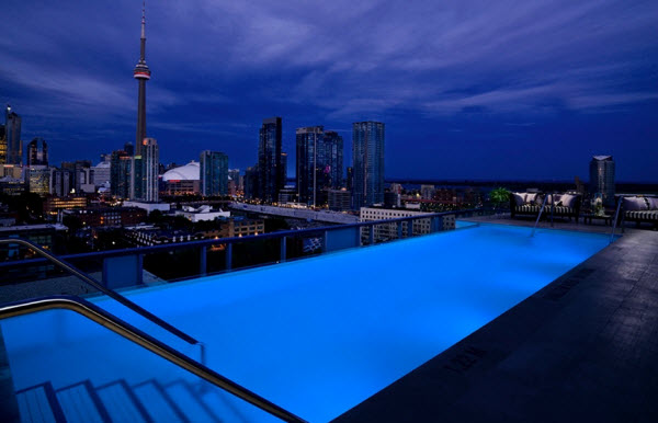 Roof Top Swimming Pools