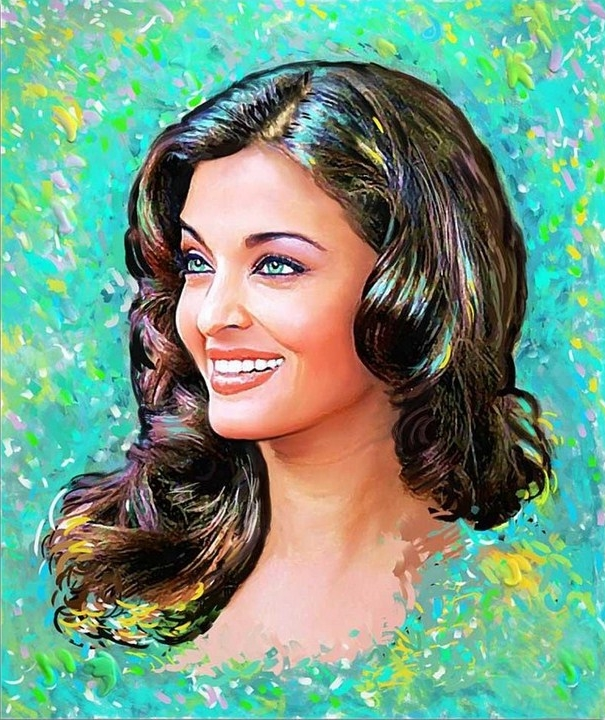 Paintings, Aishwarya Rai