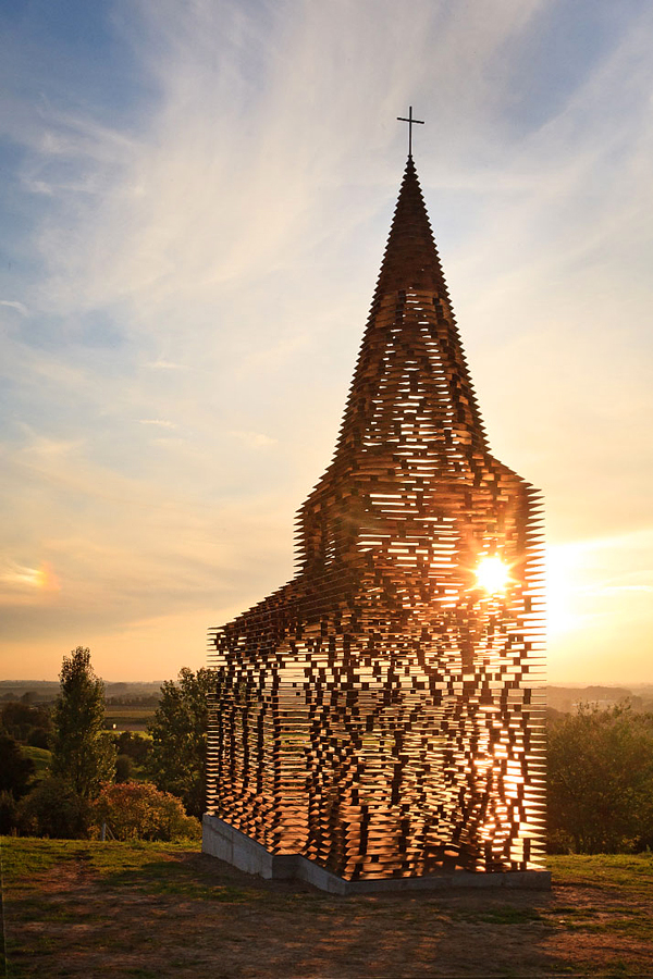 See through Church by Gijs Van Vaeremnergh
