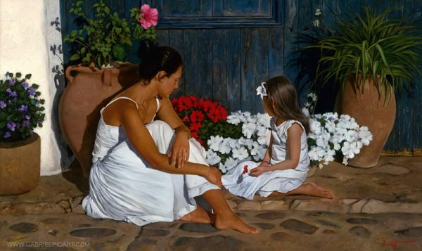 Gabriel Picart Paintings