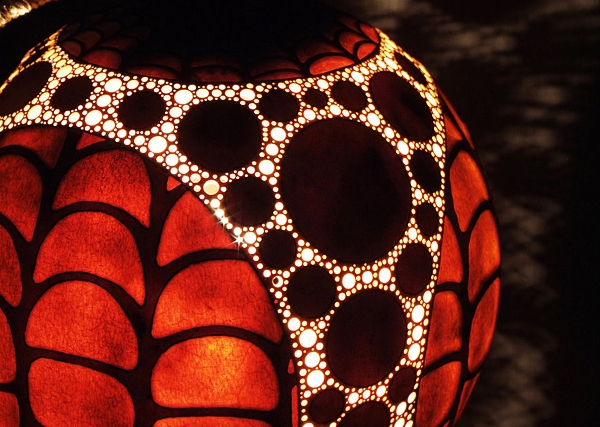 Gourd Lamps by Przemek from Poland