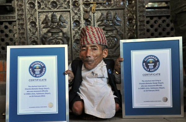 World's Shortest Man from Nepal