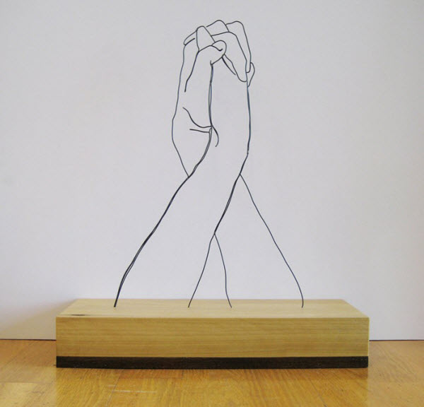Wire Sculptures by Gavin Worth from Zimbabwe