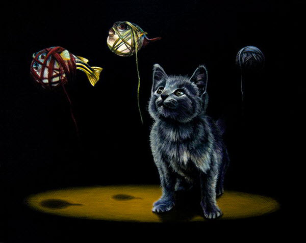 Surreal Animal Painting by Jacub Gagnon from Canada
