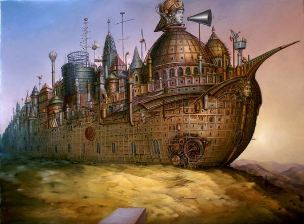 Magical Realism – Surrealistic Paintings by Tomek Setowski from Poland