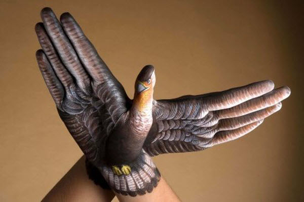 Hand Painting Artwork by Guido Daniele from Italy