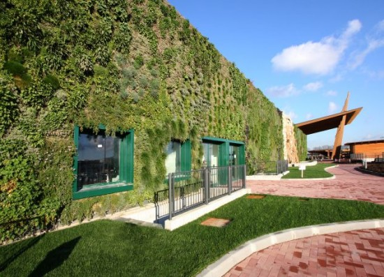 Largest Vertical Garden at Shopping Center at Rozanno, Italy