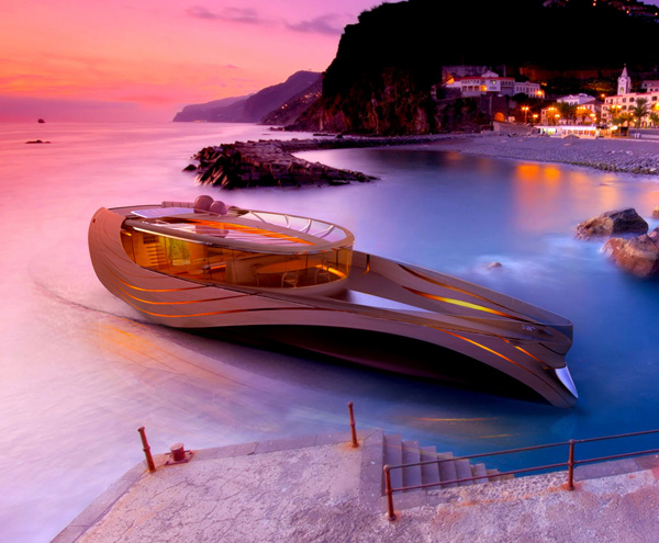 Yatch Concept Cronos by Madella and Berselli from Italy