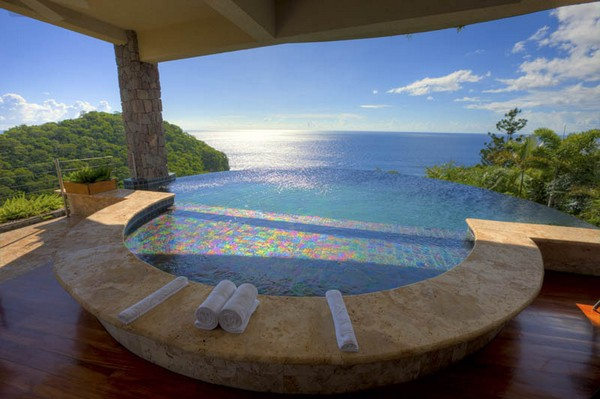 Luxurious Jade Mountain Resorts at St. Lucia