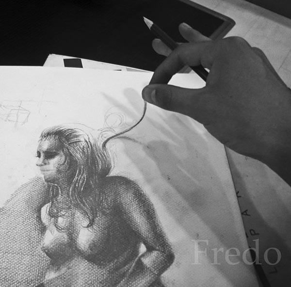 3D-Pencil Drawings by Fredo from Chile