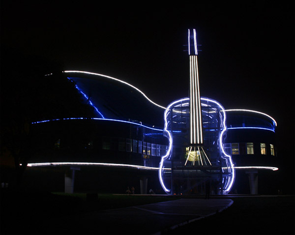 Violin and Piano House in China