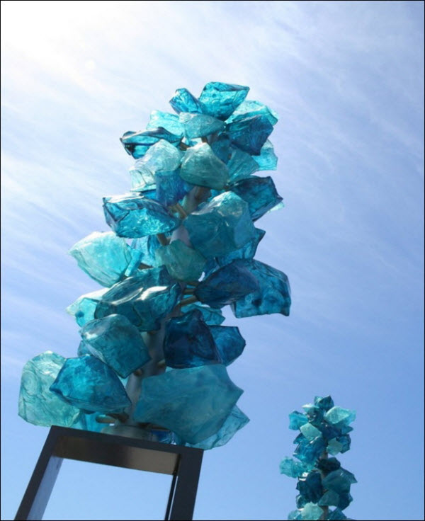 Glass Sculpture art