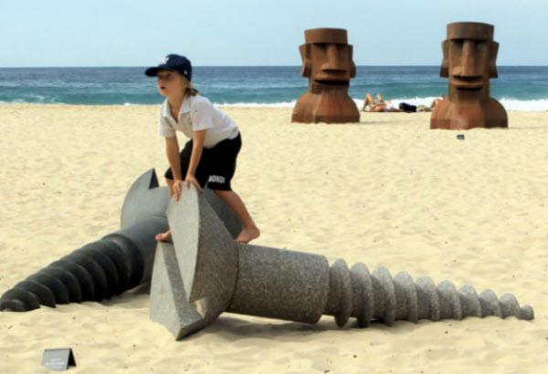 Sea Sculptures Exhibition at Sydney, Australia
