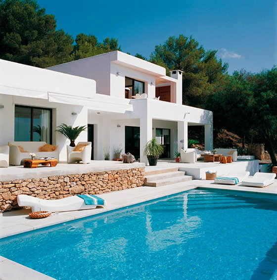 Mediterranean house, Blanco de Ibiza by Malales Martinez Canut, Ibiza