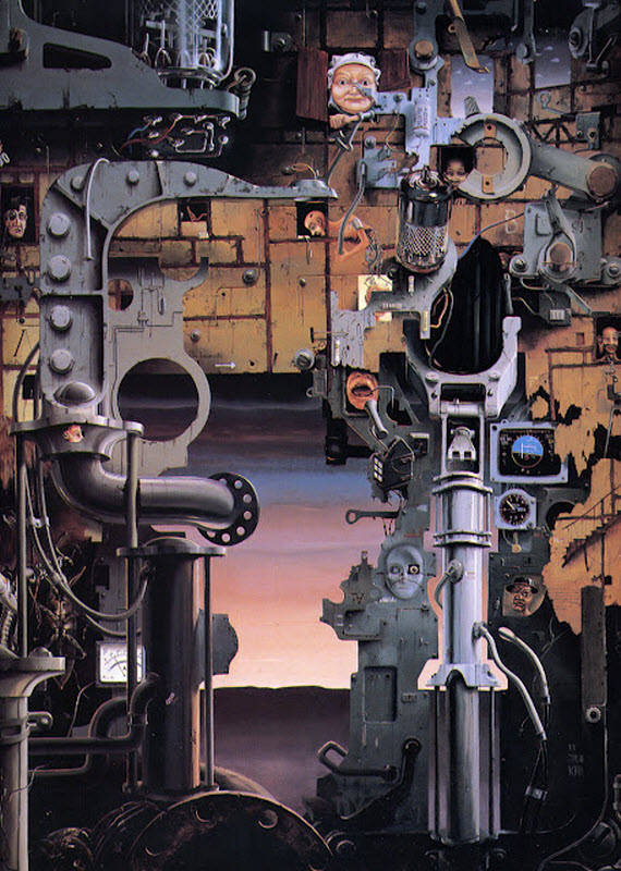 Amazing Paintings by Jacques Resch from France