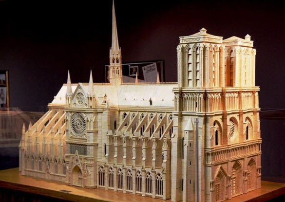 Amazing Matchstick Models by Patrick Acton