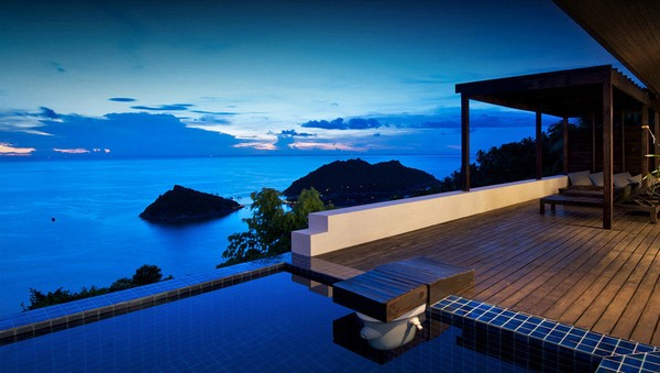 Luxurious Boutique Villa Casas Del Sol on the Island of Koh Tao, Thailand