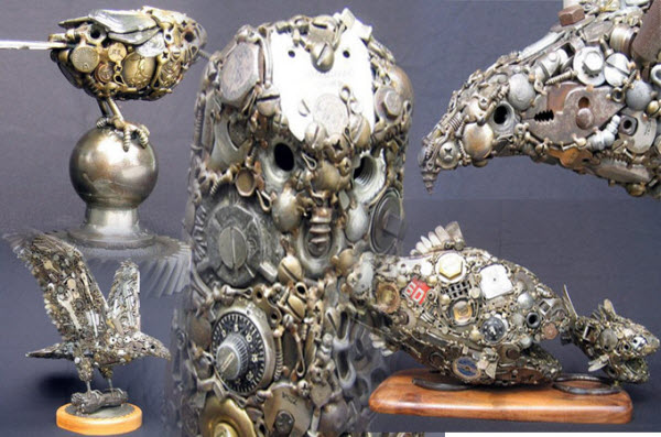 Metal Sculptures by Joe Pogan