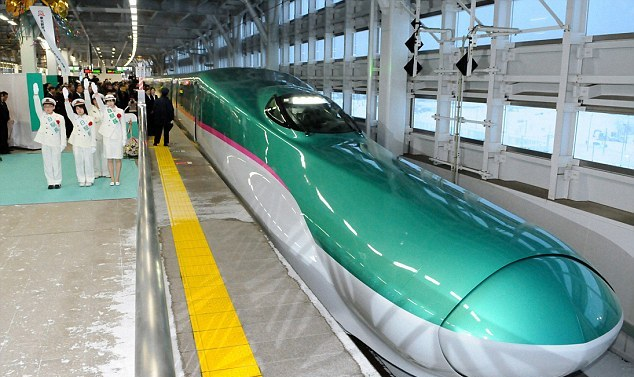 Hayabusa, Fastest train in Japan