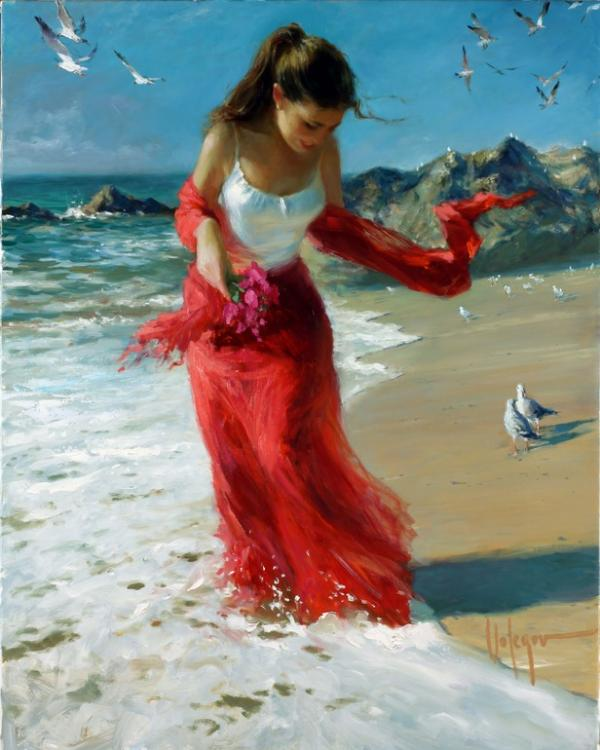 Figurative Paintings by Vladimir Volegov from Russia