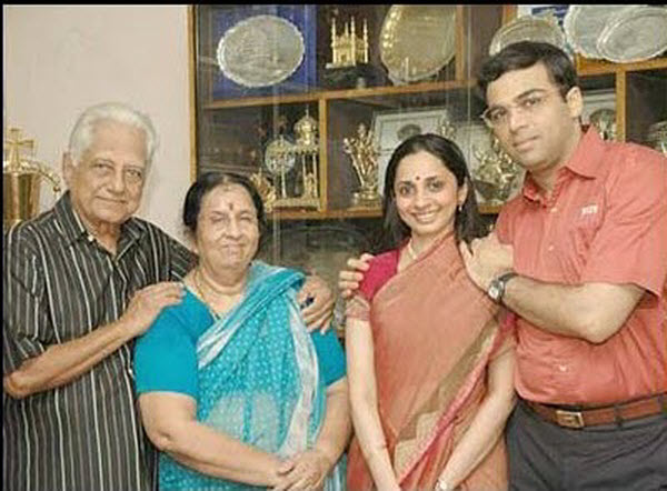 Chess Grandmaster Vishwanathan Anand Family Pictures