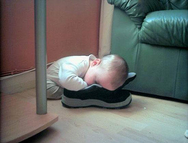 Sleeping Babies Funny Pictures