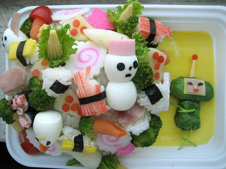Bento, the Japanese Food art