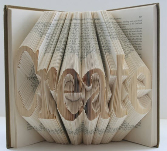 Book Art by Isaac Salazar