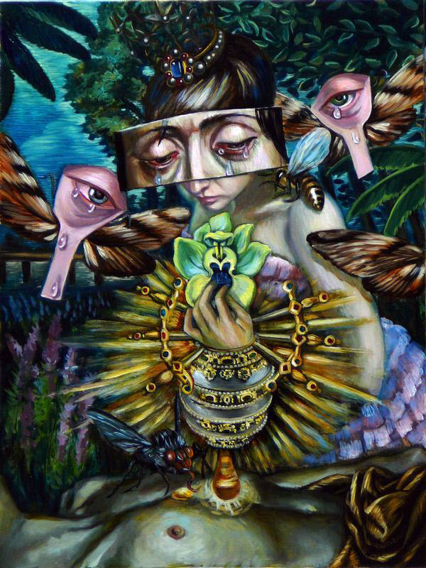 Paintings by Carrie Ann Baade from Florida