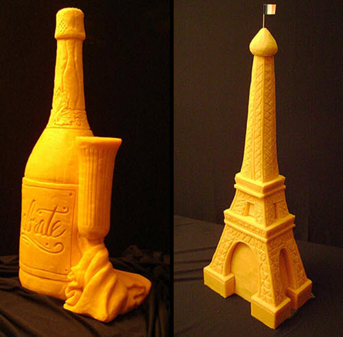 Sarah Kaufmann Cheese Sculptures