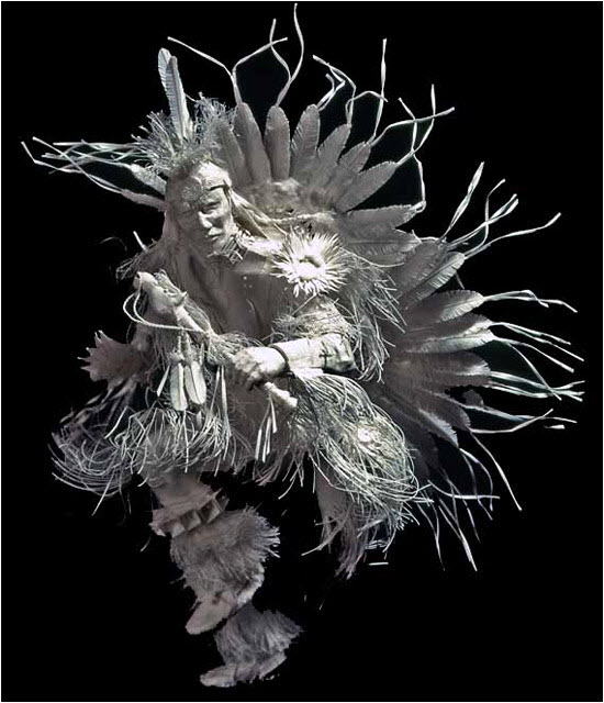 Paper Sculptures by Allen and Patty Eckman