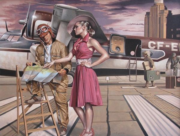 Peregrine Heathcote Paintings