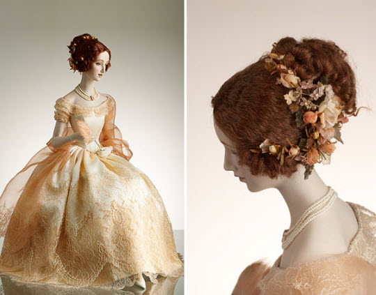Porcelain sculptures by Alexandra Kokinova