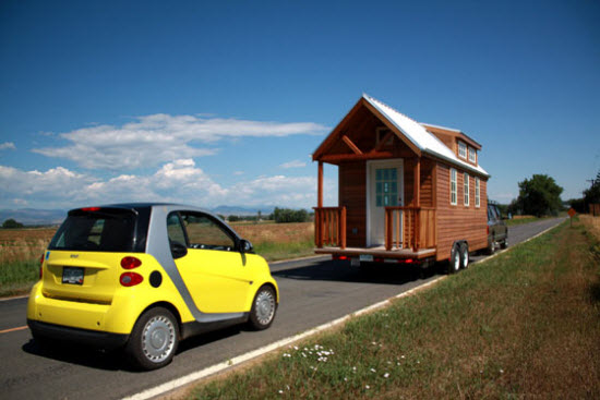 ProtoHaus, house on wheels