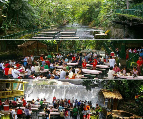 Waterfall-restaurant-Philippines